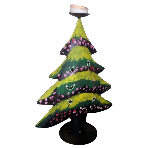 Christmas Tree Candle Stand