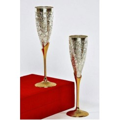 Brass Nickle Goblets