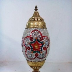 Table Lamp Glass Mosaic
